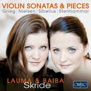 Portrait Baiba and Lauma Skride